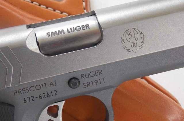 The Ruger SR1911 in 9mm.
