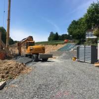 Baufortschritt im Juni