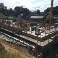 Baufortschritt im Juli