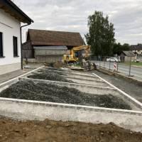 Baufortschritt August 2021