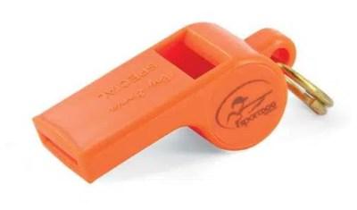 SportDOG Original Roy Gonia Special Orange Whistle