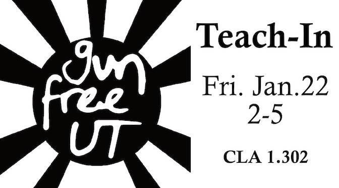 Gun-Free UT Teach-in
