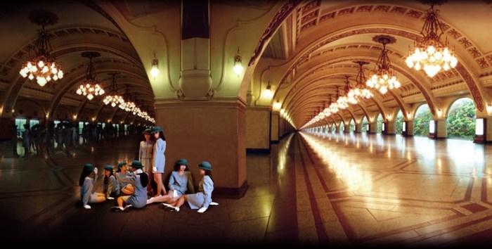 《次の階を探してⅠ》(部分)1996年 高松市美術館蔵