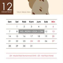 tugas membuat kalender