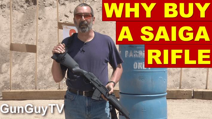 Why buy a Saiga rifle?