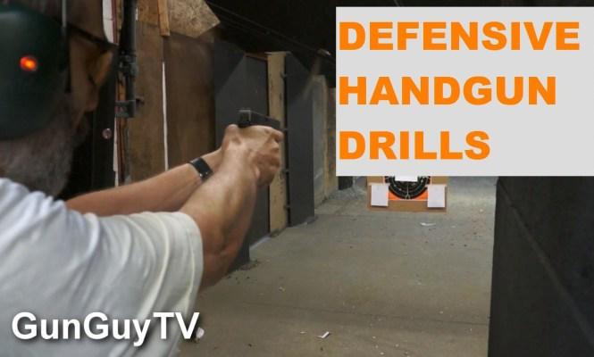Defensive shooting drills