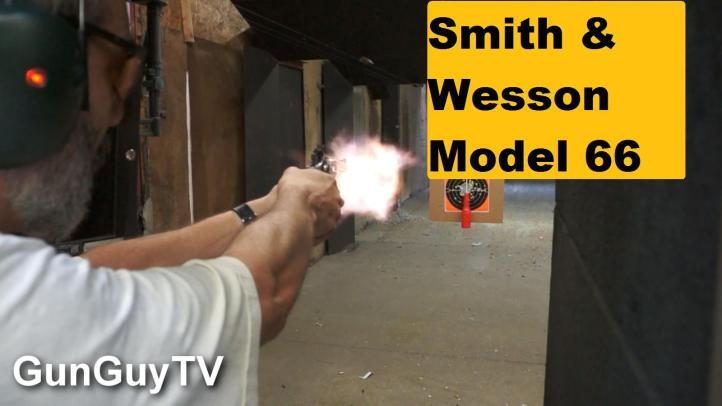 The Smith & Wesson .357 Magnum Model 66