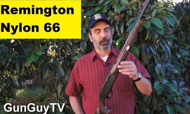 Remington Nylon 66 .22 Long Rifle