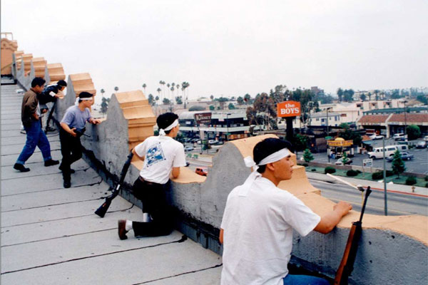 Shop owners during LA riots