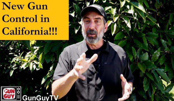 New Gun Control in California!