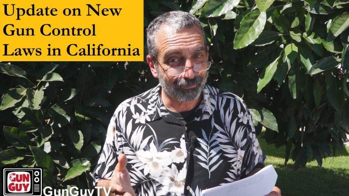 Update on New California Gun Control Laws