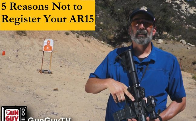 5 Reasons to Register Your AR15