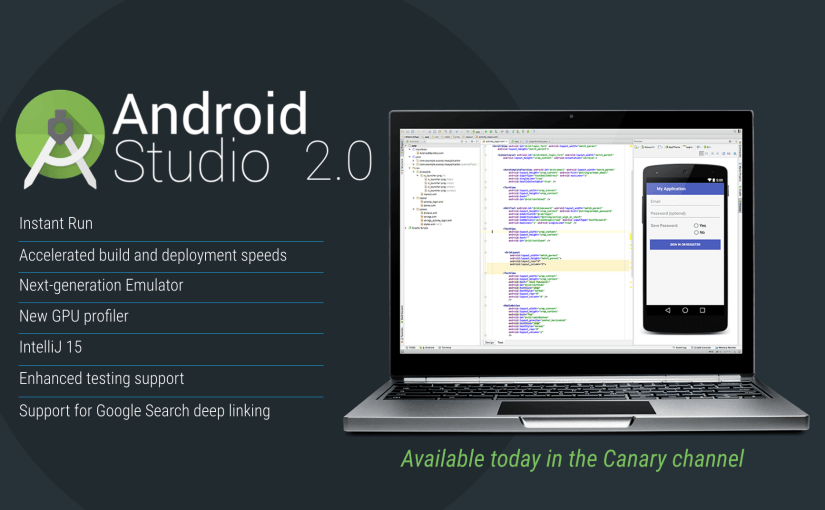 android studio 2.0 preview is released