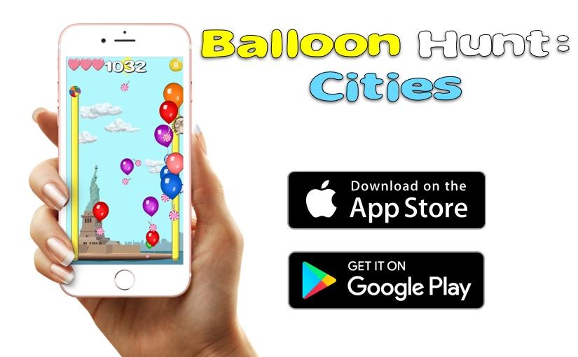 Balloon Hunt: Cities
