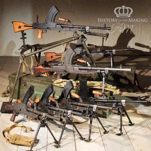 Live firing Machine Guns for Hire