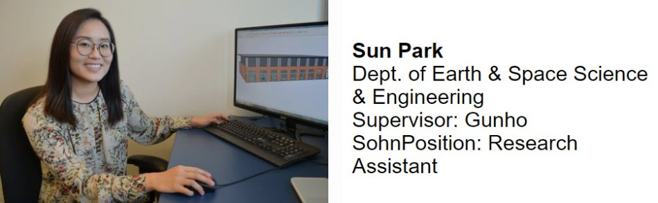 Summer Research Internship Project 2018 – Sun Park