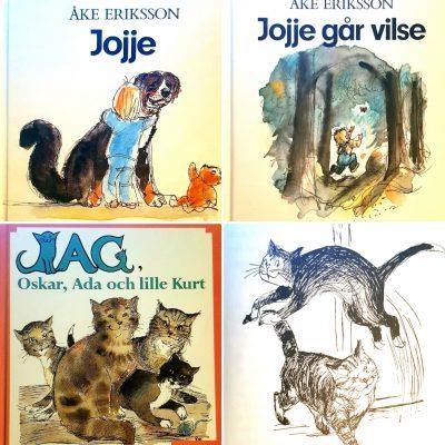 Lästips: Tre bilderböcker om författarens eget liv med barn och djur
