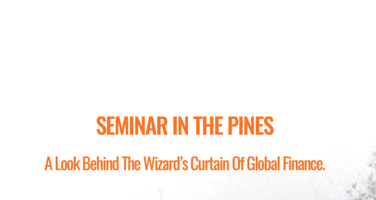 Seminar in the Pines