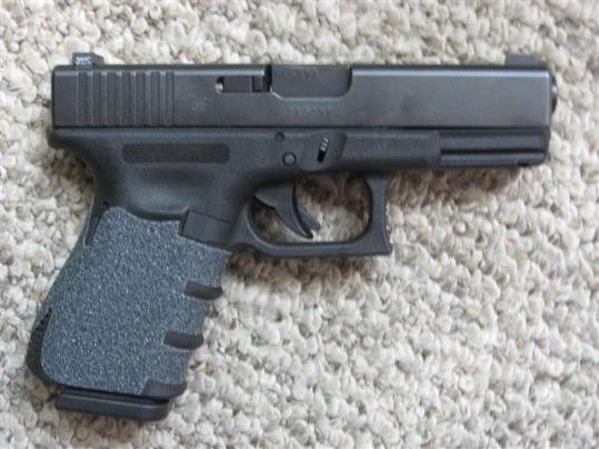 Talon Grips on a Glock