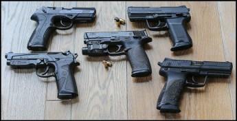Polymer handguns in the race for handgun supremacy