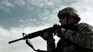 rifles in the military