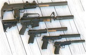 Suppressed guns