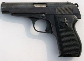 North Korean pistol