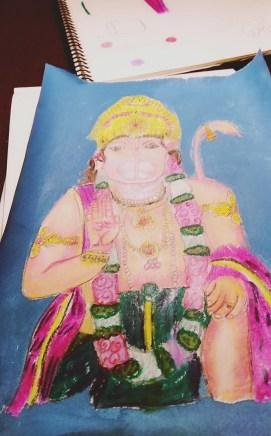 Lord Hanuman by Sahej