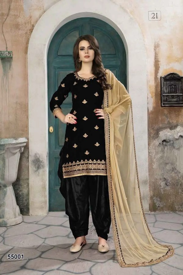 Stylish Party Wear Patiyala Salwar Kameez 55001