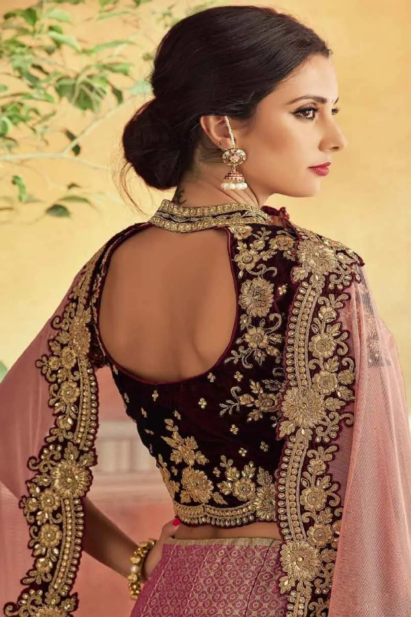 lehenga blouse patterns