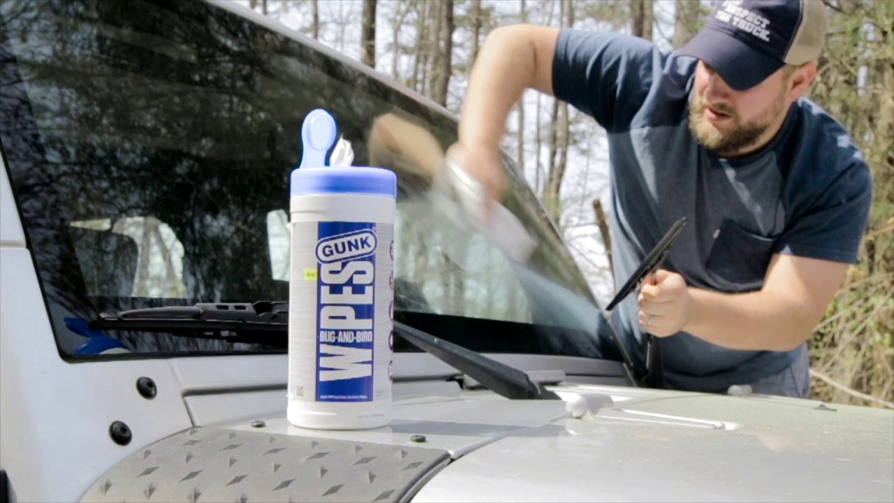 How to Clean Bug Guts and Bird Poo Off Your Car - youtube