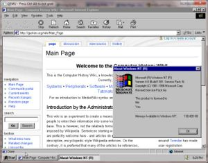 Installing Windows NT 4.0 on Qemu - Computer History Wiki