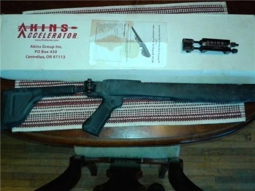 A Ruger 10/22 Akins Accelerator found on GunBroker.com