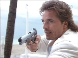 Sonny Crockett, a character on the 1980s hit Miami Vice carried a 10mm Bren Ten.