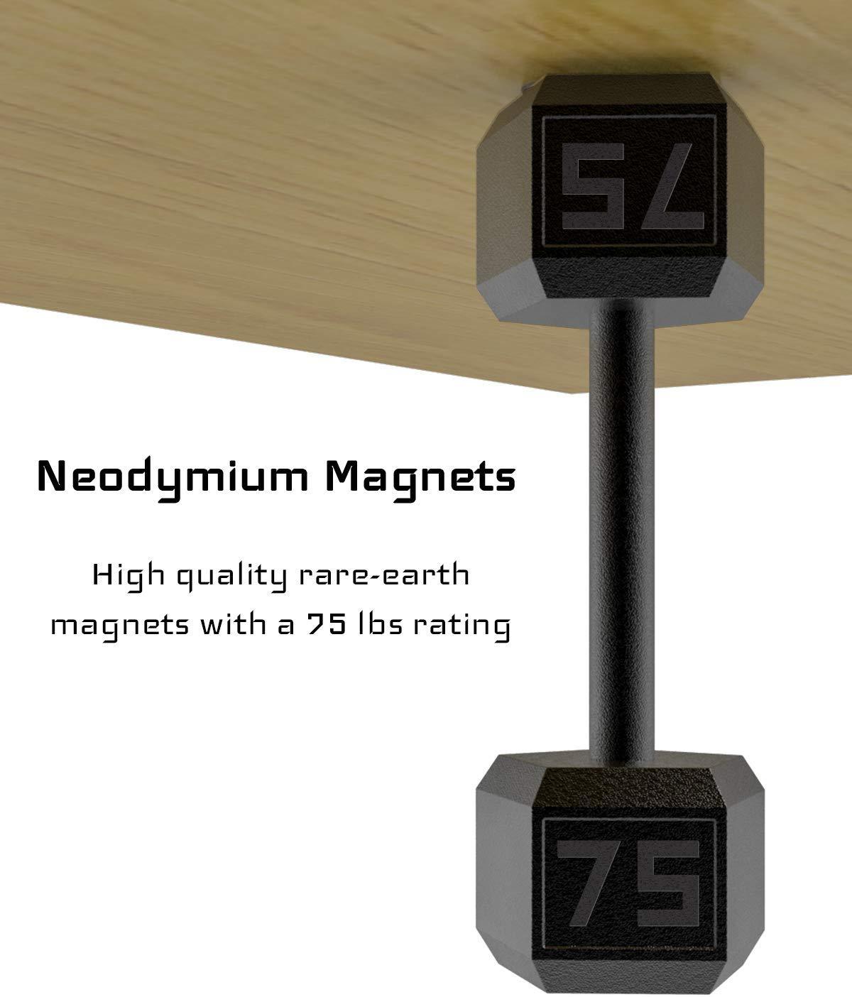 GMW Magnetic Gun Mount, War Door II Series [10 Pack] | 75 ...