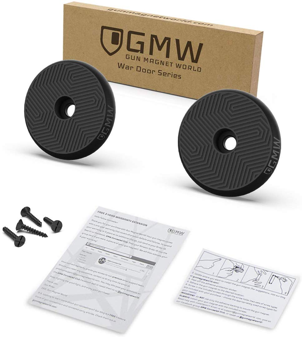GMW Magnetic Gun Mount, Buckler II Series [2-Pack] | 30 ...