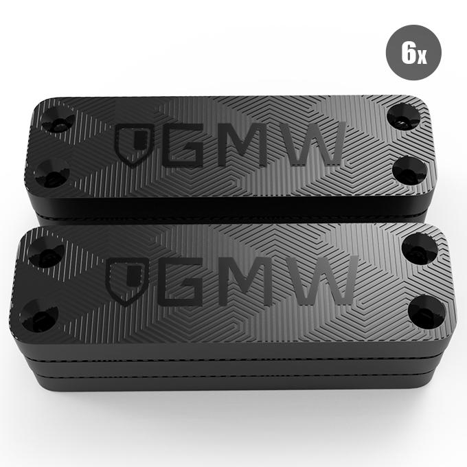 GMW Magnetic Gun Mount, War Door Series [6 Pack] | 35 lbs ...