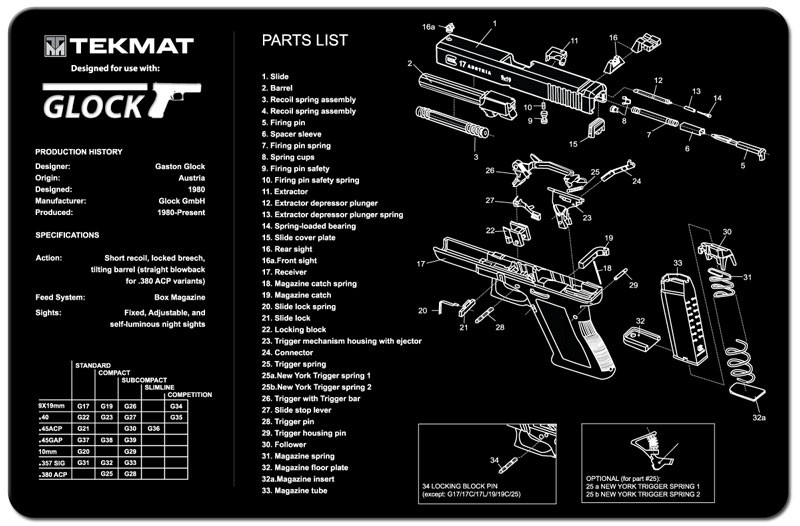 Glock Gunmat Us