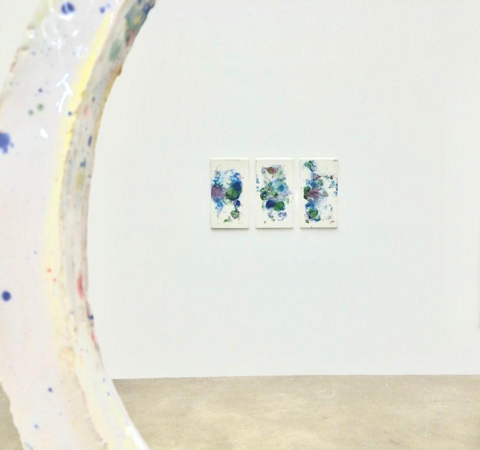 """Installationsansicht, """"Saloon"""", Galerie Sexauer"""