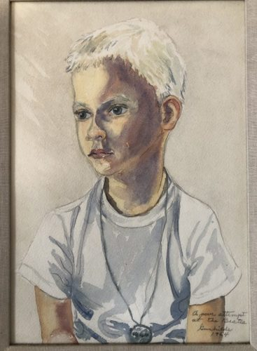 Painting of Gunnar from 1964