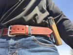Exos Leather Gun Belt Review