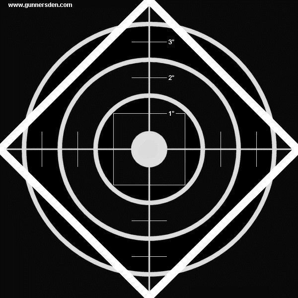 graphic relating to Turkey Shoot Targets Printable named Totally free Rifle Emphasis Printable - Gunners Den