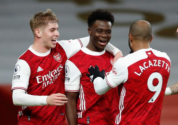 Saka-Laca-Smith-Rowe