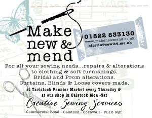 Make New & Mend advert