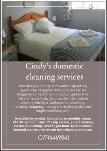 Cindy's Domestic Cleaning