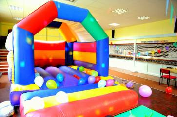 2nd children's party set up