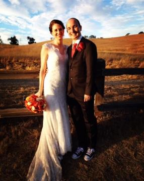 Congress married her current husband after two years of dating. Courtesy of Rachel Congress