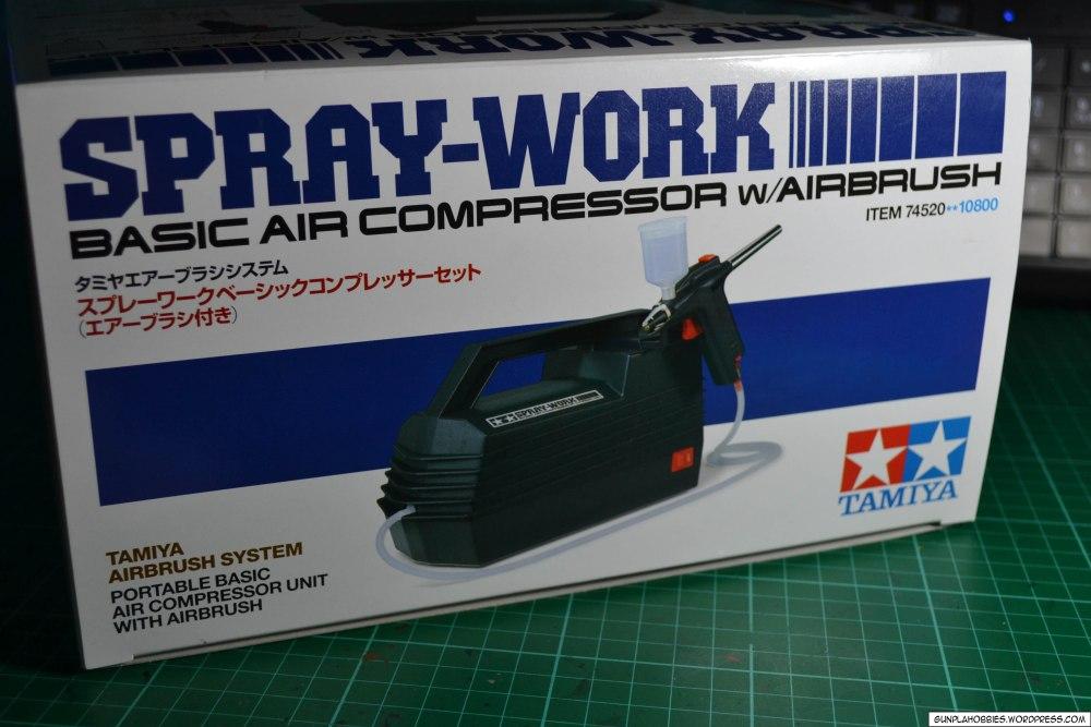 Tamiya Spray-Work Basic Air Compressor w/ Airbrush Review (5/6)