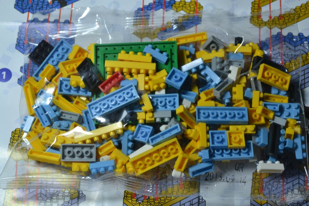 LoZ Gift Series Diamond Blocks: Minion Dave (4/6)