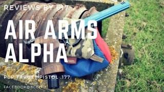 Air Arms Alpha_ 10m Match Pistol